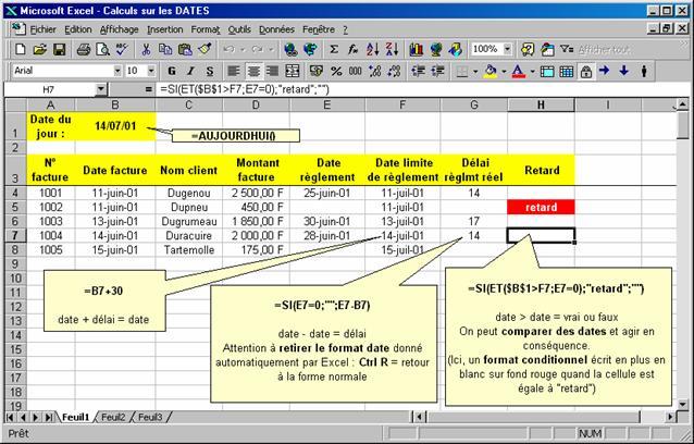 comment creer une base de données avec excel